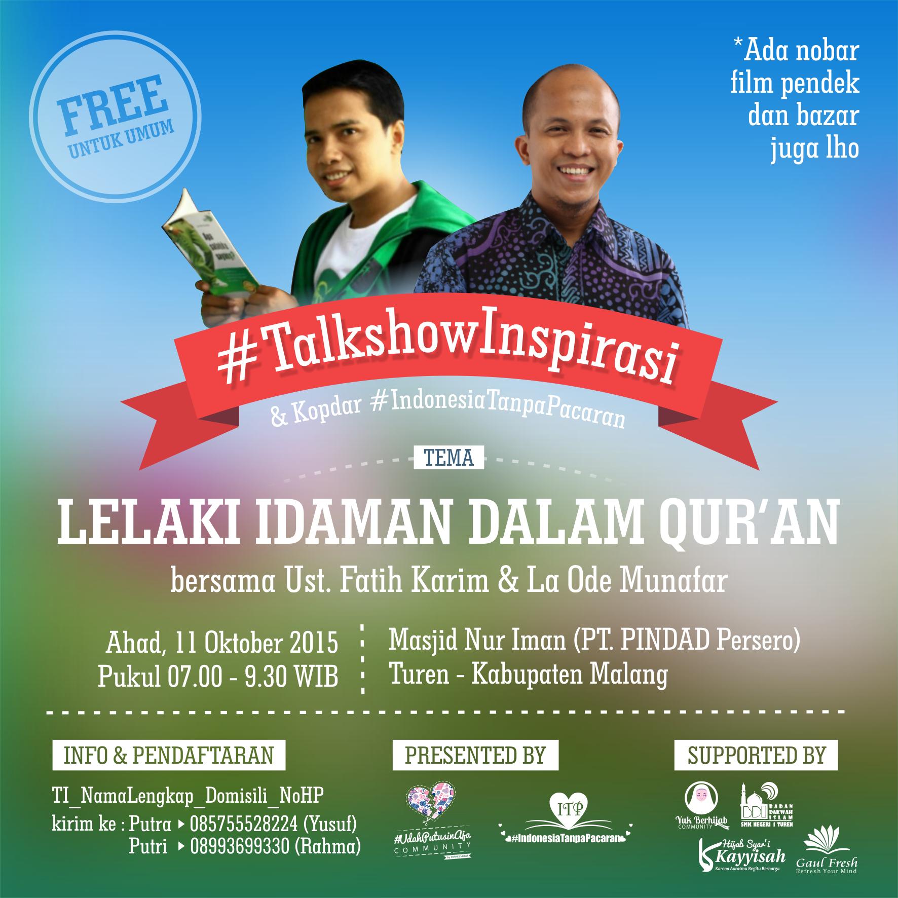 Badan Dakwah Islam SMK Negeri 1 Turen Gelorakan Semangatmu Di